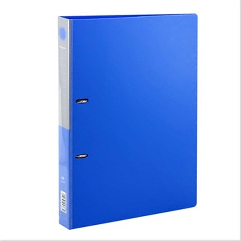 Kunststoff blau punch punch punch Ordner 2-ring Ordner DIN A4 Ordner Büromaterial B07BXXQFHW | Reichhaltiges Design  6711c9