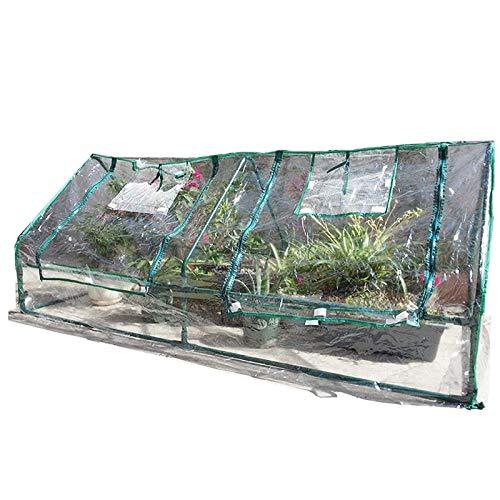 HWLL Mini Invernadero Plantador de Flores Portátil Tomate Casa Vegetal, para El Jardín del Patio Trasero con Cremallera, para Exterior Interior (Color : Style-2)