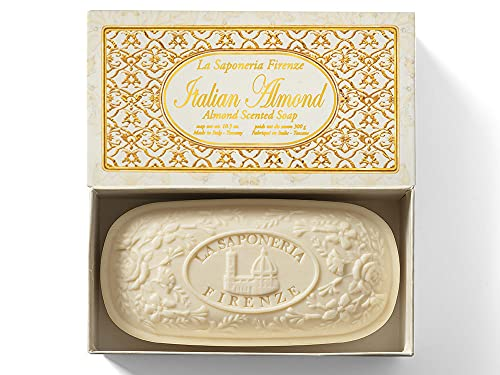 Italian Almond, caja de jabón de Saponificio Artigianale Fiorentino, 300g