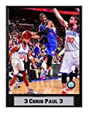 Encore Select 512-34 NBA Los Angeles Clippers Chris Paul Logo Plaque, 9-Inch by 12-Inch