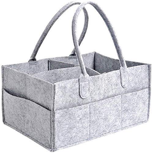 Miwaimao Baby-luier-caddy, opbergmand voor kinderen, luier-geheugen-handtas, voor vuile kleding, snoep, zonwering, damesbinding, medicijnen, cosmetica, ondergoed, enz.