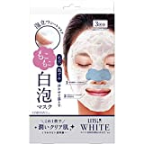 ホワイト もこもこ白泡マスク 3回分