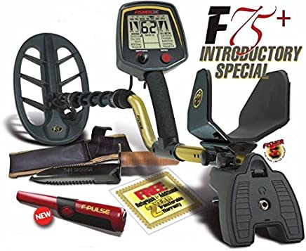 Fisher F75+ Metal Detector Bundle Package