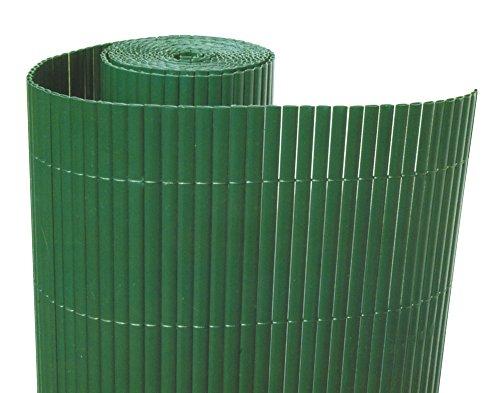 VERDELOOK Double, Arella in plastica con Listelli bifacciali, 3x1 m, Verde