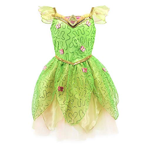 Disney Tinker Bell Costume for Girls – Peter Pan, Size 4 Green