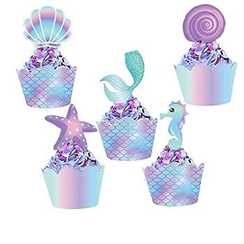 Best mermaid cupcake toppers Reviews