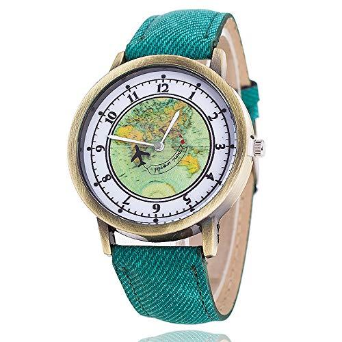 Lazzgirl Vansvar Damen Casual Quarz Lederband Newv Armbanduhr Analoge Armbanduhr(Mehrfarbig)