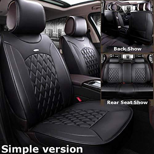XIARI Coprisedili per Auto Universali Set di Accessori per Toyota Camry Corolla Prius Venza CHR C-HR Rav4 4Runner Yaris Avalon Highlander 2020-Nero