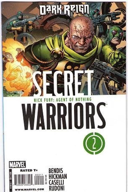 tienda de descuento Secret Warriors Warriors Warriors  2 Dark Reign by Marvel Comics  autentico en linea