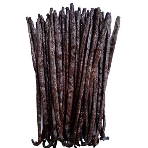ZGourmeto – Vainas de vainilla de Madagascar - 16 a 18 cm en 5 vainas [min] 17,8g – Vainilla negra salvaje - calidad de Chef – Extracción artesanal (35.5)