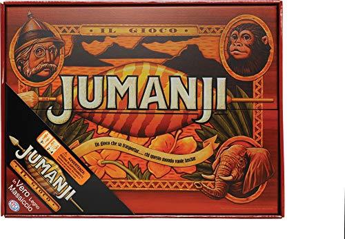 Spin Master Copia de madera maciza del juego jumanji (versión italiana)