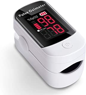AFAC Oxygen Saturation Monitor, Pulse Oxymeter Finger Adult