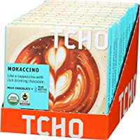 "TCHO CHOCOLATE Milk Chocolate ""Mokaccino"" + Blue Bottle Coffee 12個セット [並行輸入品]"