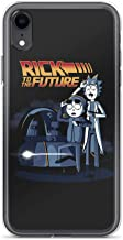 Compatible for iPhone Xs Max Rick and his Grandson Morty Rick to The Future