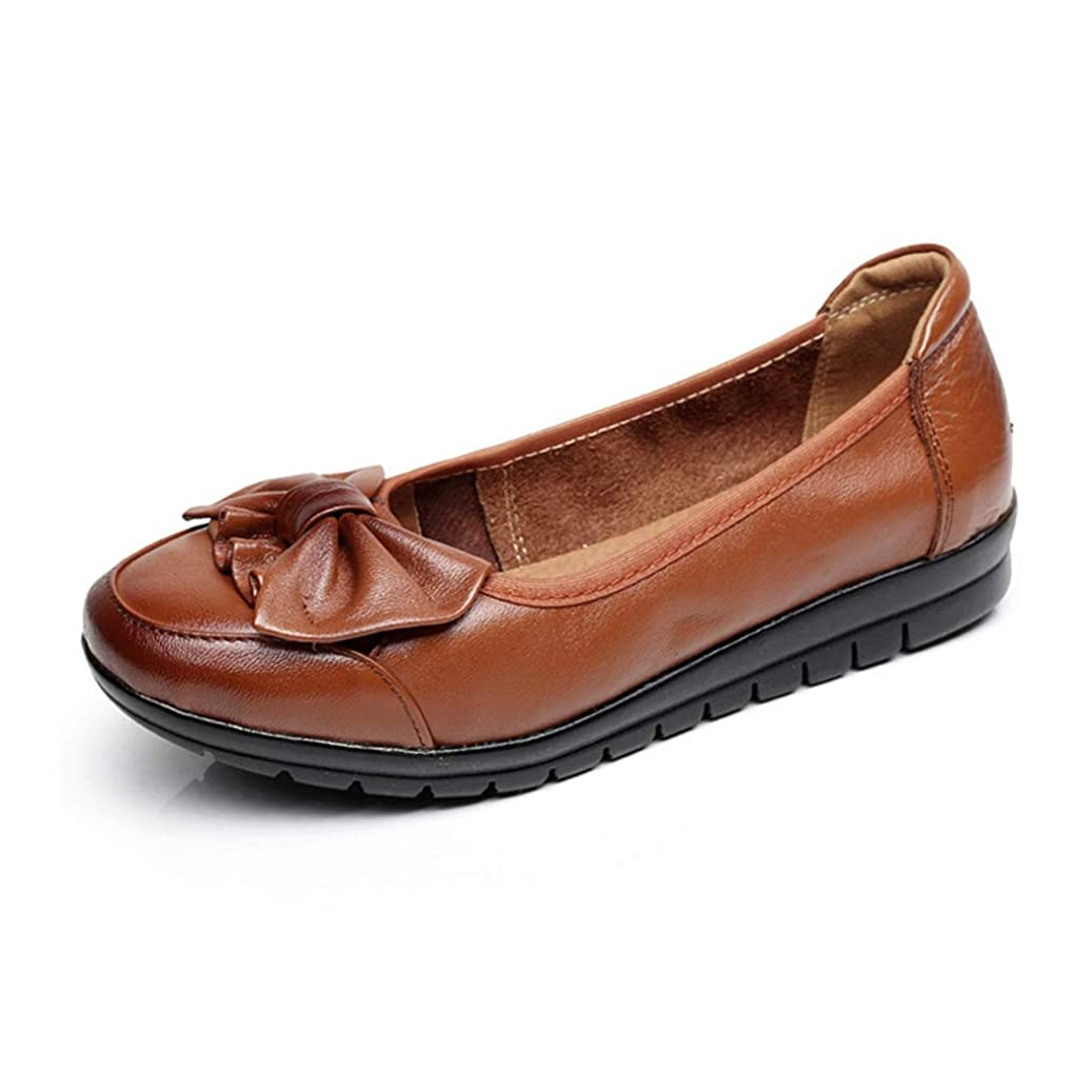 または哲学的葡萄[実りの秋] シニアシューズ レディース 25.5CMまで お年寄りシューズ リボン 疲れにくい 滑り止め 婦人靴 モカシン 介護用 軽量 安定感 通気性 高齢者 母の日 敬老の日 通年