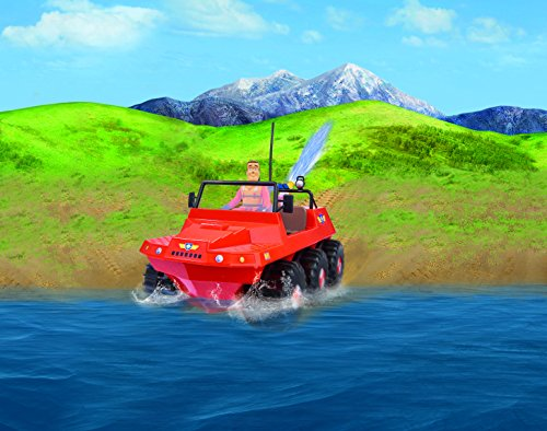 RC Auto kaufen Feuerwehr Bild 5: Dickie Toys 203099620 - RC Feuerwehrmann Sam Hydrus, funkferngesteuert zu Wasser und zu Land, 30 cm*
