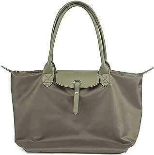 COAFIT Women's Tote Folding Top Handle Bag Shoulder Handbag Shopping Tote Bag