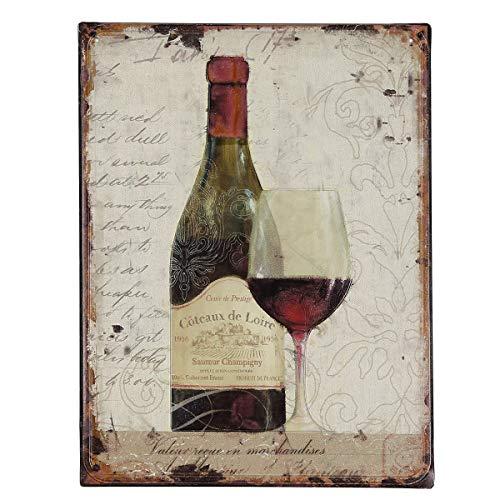 /N softwarego 84691 - Cuadro de vino (33 cm)