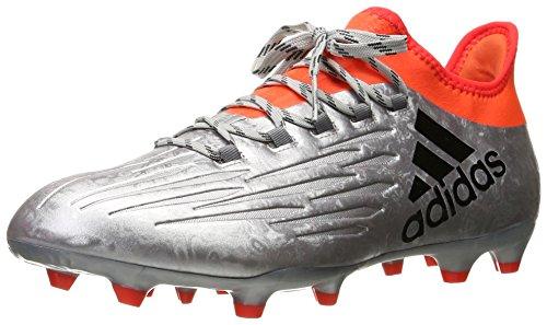 Adidas X 16.2 FG - Botas de fútbol para hombre, color Plateado, talla 44 2/3 EU