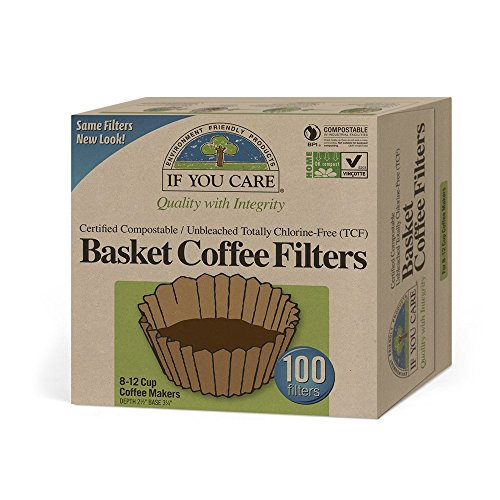If You Care, Coffee Filter, Basket, Pack of 12, Size -...