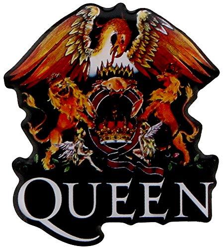 Queen METALL PIN # 6 CREST LOGO ANSTECKER BADGE BUTTON - 4x3cm