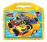 Clementoni 41183 Mickey and the Roadster Racers – Baby Puzzle Cubo, 12 piezas , color/modelo surtido