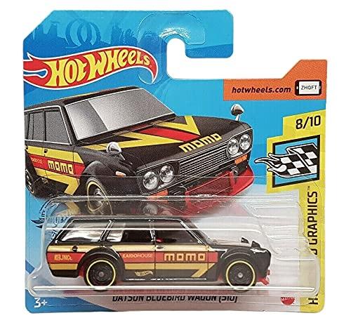 Hot Wheels - Datsun Bluebird Wagon [510] - HW Speed Graphics 8/10 - Nissan - Momo - GHF35 - 2020