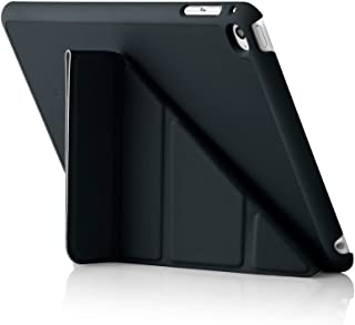 Pipetto Origami iPad Case Mini 4 with 5 in 1 stand & auto sleep / wake function Black