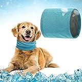andana para Perro,Collar Refrigerante para Mascotas,Collar de Enfriamiento para Perros,Collar Refrigerante Perro,Bandana para Perros Pequeños,Pañuelo De Mascotas,Refrescar al Perro en Verano(S)