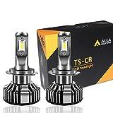 Alla Lighting 10000lm LED H7 Headlight Bulbs Extremely Super Bright TS-CR H7 LED Headlight Bulbs Conversion Kits H7...