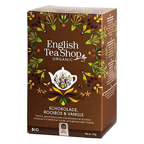 English Tea Shop - Schokolade Rooibos & Vanille, BIO, 20 Teebeutel - (DE-Version)