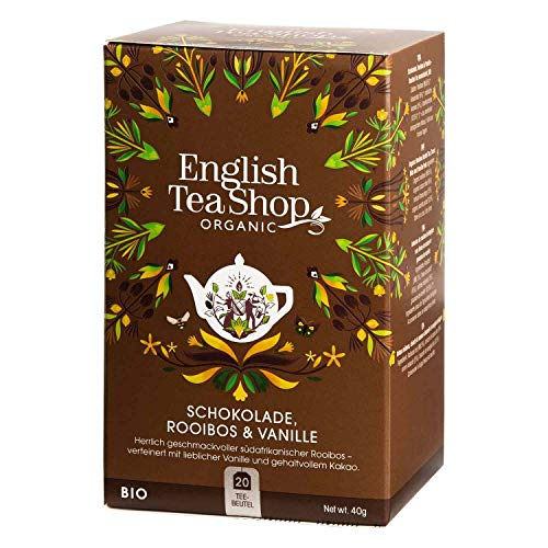 English Tea Shop - Schokolade Rooibos & Vanille, BIO, 20 Teebeutel - (DE-Version)
