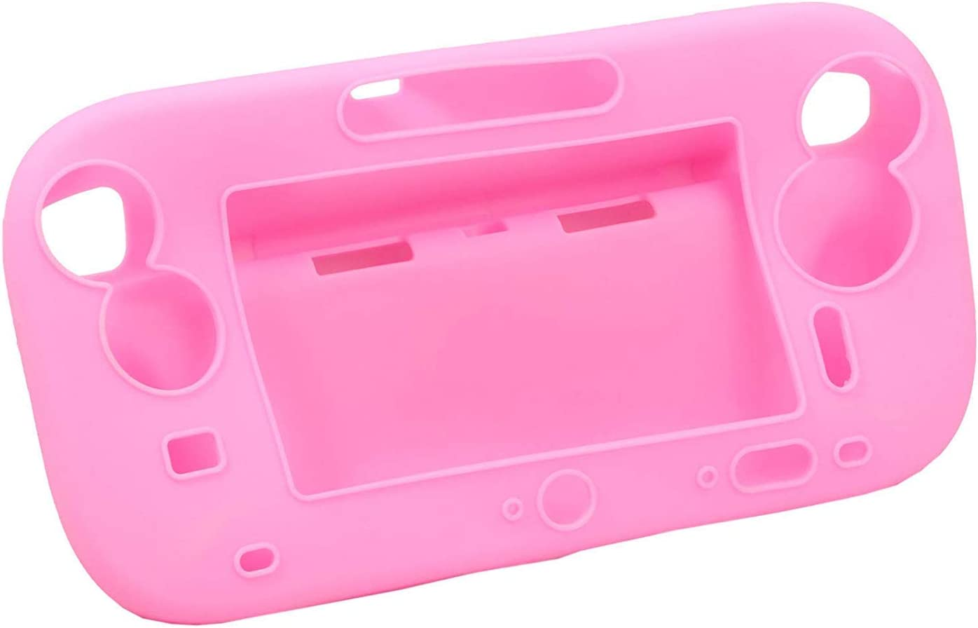 for Wii U Gamepad Controller Protective Shell Rubber store shop Case Soft C