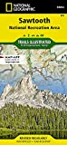 Sawtooth National Recreation Area (National Geographic Trails Illustrated Map (870))
