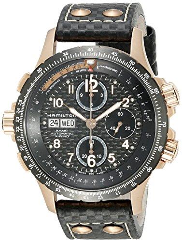 Hamilton H77696793 - Reloj para Hombres, Correa de Cuero