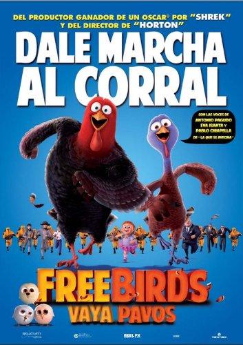 Free Birds (Vaya Pavos) (Blu-ray 3D + Blu-ray) [Blu-ray]