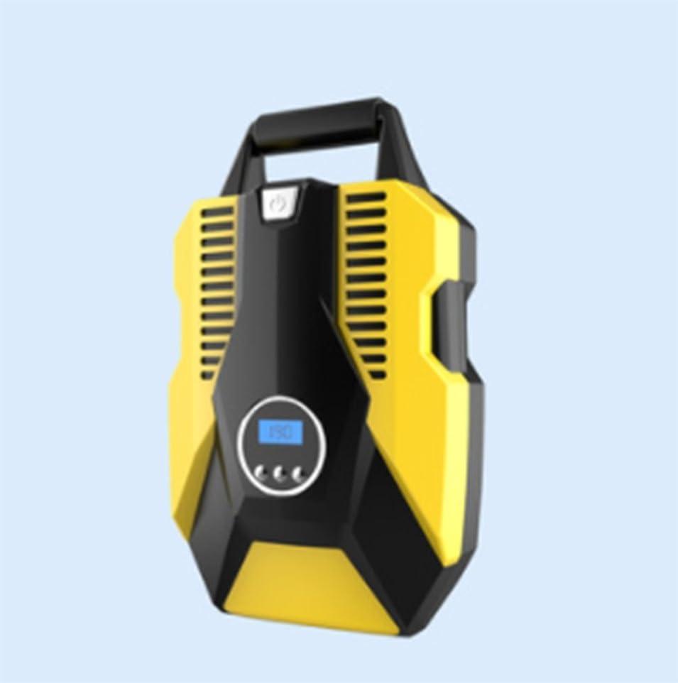 従来のエンドウ後ろにデジタル圧力計、シングルシリンダーエアコンプレッサーポンプミニデジタルタイヤインフレータ付き自動車用エアポンプポータブルエアコンプレッサー