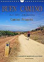 Buen Camino - Auf dem Jakobsweg - Camino Francés (Wandkalender 2022 DIN A4 hoch): Der Jakobsweg - endlos lang und beschwerlich, aber auch ein Weg der Kraft und Zuversicht. (Monatskalender, 14 Seiten )