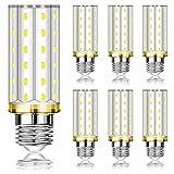 Bombillas LED E27 Eofiti E27 LED Luz de Maiz Lampara Blanco Frío 6000K 1200lm, Lampara E27 12W Equivalentes a 100W Incandescente, E27 LED Bombillas Maiz de Bajo Consumo - 6 unidades