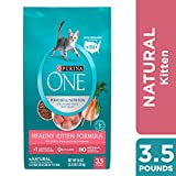 Purina ONE Natural Dry Kitten Food, Healthy Kitten - 3.5 lb. Bag