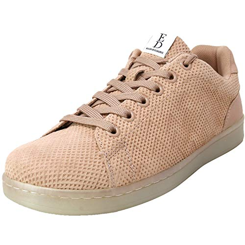Ed Ellen Degeneres Womens Chapala Fabric Low Top Lace Up Fashion Sneakers