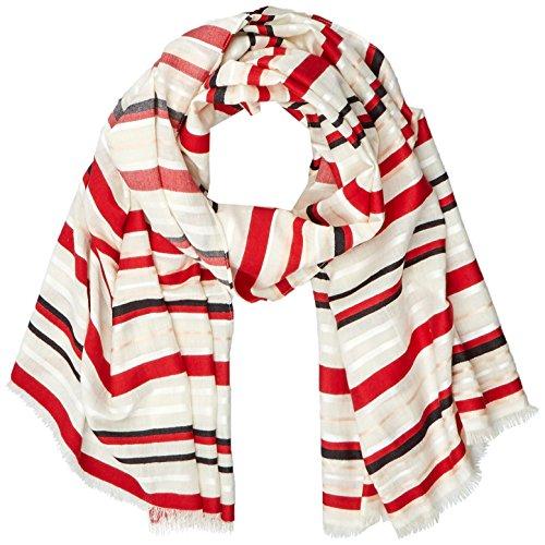 ESPRIT Accessoires Damen 028EA1Q020 Schal, Rot (Red 630), One Size (Herstellergröße: 1SIZE)