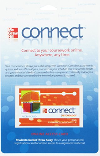 Connect Psychology Access Card for Experience Psychology