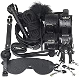 E-DIDI - Conjunto de 10 piezas para entrenamiento deportivo de yoga, para correas de reloj unisex y correas de tobillo (color: negro)-A391