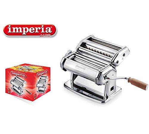 Imperia Macchina Manuale per LA Pasta 6 SPESSORI 2 Tipi di Pasta IPASTA Made in Italy