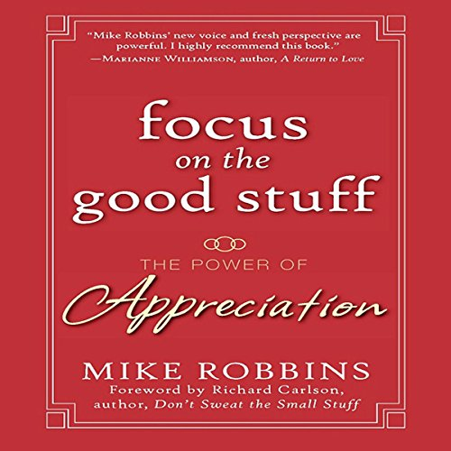 Focus on the Good Stuff audiobook cover art