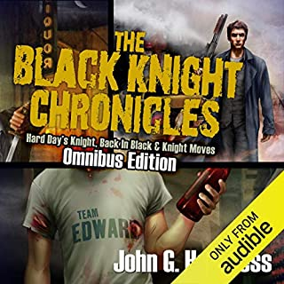 The Black Knight Chronicles: Omnibus Edition audiobook cover art