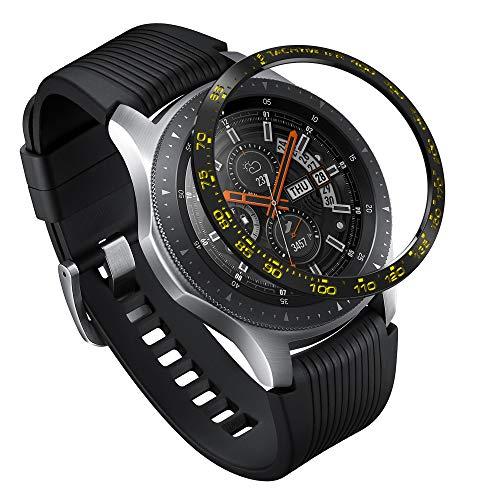 Ringke Bezel Styling per Galaxy Watch [46mm] / Galaxy Gear S3 Frontier & Classic Bezel Ring Copertina AntiGraffio Protezione - [Stainless] GW-46-04