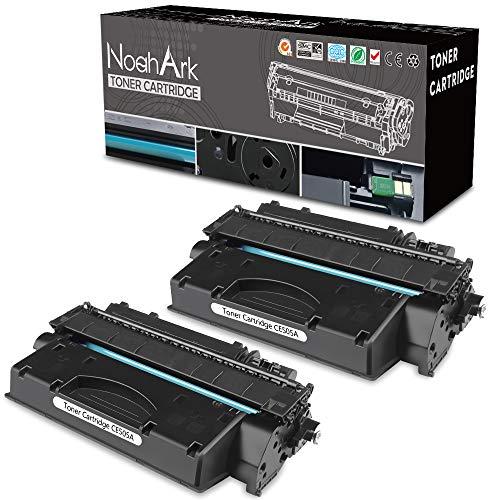 NoahArk Compatibel CE505A tonercartridge voor HP LaserJet P2035/P2035n/P2035x/P2050/P2055d/P2055dn/P2055x printer (2 zwart)