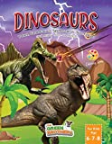 Dinosaurs coloring book for kids age 6-7-8, T-Rex Carnotaurus Spinosaurus Triceratops and many more to meet!: Activity books for preschooler and pre-graphism (OLD SCHOOL FUN)